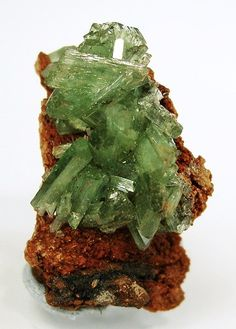 Ludlamite from Santa Eulalia District, Mun. de Aquiles Serdán, Chihuahua, Mexico