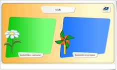"""""""The nouns: classes"""" (Primary Spanish Language Game) - Spanish Language, Learning Spanish, Games, School Starts, Teaching Resources, Learning, Second Best, Learn Spanish, Spanish"""