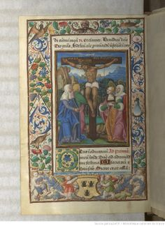 Heures d'Antoine le Bon, duc de Lorraine, exécutées en 1533. Type : manuscrit Langue : Latin Droits : domaine public Identifiant : ark:/12148/btv1b525017457