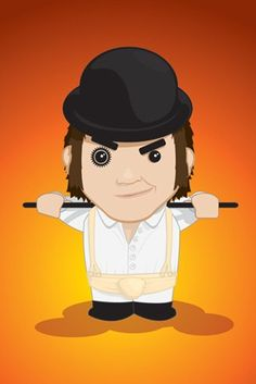Cartoon Alex - A Clockwork Orange