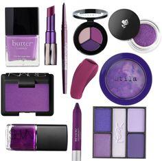 Radiant Orchid Makeup! #pantone2014 #coloroftheyear
