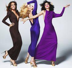 MAC lança coleção com tops dos anos 1970. Linha Antonio´s girls é homenagem ao ilustrador de moda Antonio Lopez