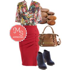 In this outfit: Back Road Ramble Tunic in Rose Garden, A Trip into Town Skirt in Cherry, Disc-y Business Necklace, Every Day, Everywhere Bag in Cognac, Life is Strut a Dream Bootie