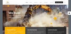Here are some of the best construction company WordPress themes 2017 for building, contractor, architect or business related websites. Wordpress Theme, Construction, Building, Design, Buildings