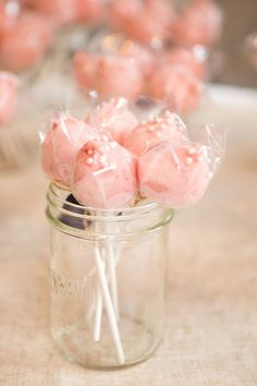 Cotton candy pops.