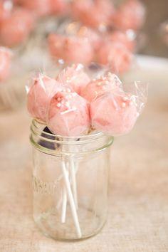 Cotton candy pops