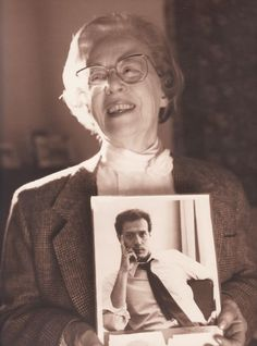 Jeanne Manford loved her son. She stood up for him and his rights at a time when being gay was not as socially accepted as it is today. I admire her courage.    She was the founder of the national support group Parents, Families and Friends of Lesbians and Gays, or PFLAG, holds a photo of her son, Morty, circa 1993. Manford died Tuesday at 92.