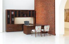 Medley Wood Office Furniture Casegoods Gunlocke