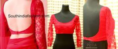 ~Latest Blouse Designs 2014~South India Fashion