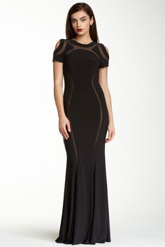 Mignon Shoulder Cutout Dress. Sexy!