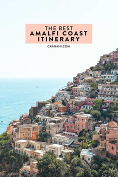 The best Amalfi Coast itinerary. A thorough travel guide for 3 to 5 days in Positano and the surrounding towns. Small town travel at its most beautiful! Travel Tours, Travel Guide, Travel Ideas, Travel List, Costa, Italy Destinations, Amalfi Coast Italy, Going On Holiday, Italy Travel