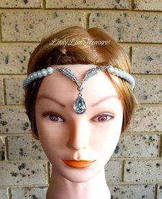 Bridal Headbands, Bridal Crown, Headpieces, Hair Pieces, Gatsby, Crowns, Crystal Rhinestone, Art Deco, Pearls