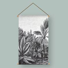 43 vind-ik-leuks, 2 opmerkingen - Grafium (@grafium1) op Instagram: '🄹🅄🄽🄶🄻🄴 .  Geef je muur een make-over met deze poster Jungle. De linnen textielposter is bedrukt met…'