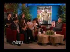 Breaking Dawn Cast on Ellen 11-18-11 Part 2