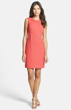 31a8d2dd520 kate spade new york  terri  tweed sheath dress available at  Nordstrom  Nordstrom Half