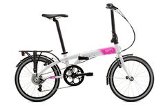Link D8: White/Pink | Tern Folding Bicycles