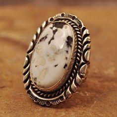 White Buffalo Turquoise Jewelry