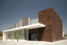moderne Architektur - verschiedene Materialien kombinieren