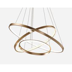 Ring Chandelier, Modern Chandelier, Chandelier Lighting, Modern Lighting, Chandeliers, Rectangular Chandelier, Luxury Lighting, Chandelier In Living Room, Living Room Lighting