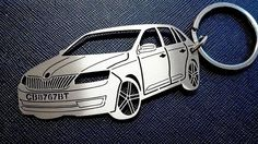 Skoda Rapid Spaceback Keychain Personalized by GuestFromThePast