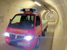 """Der """"Tunnelretter"""" der #Feuerwehr Weinheim."""
