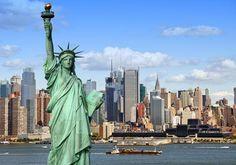 Frihedsgudinden i New York er selvfølgelig et must see - og byen har mange andre fænomenale seværdigheder!