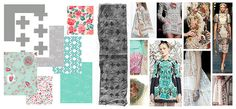 Recollection by Katarina Roccella for Art Gallery fabrics - inspirational board X Mist Moderknittie palette