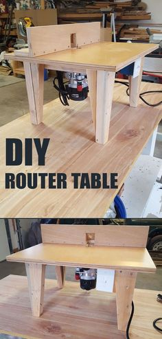 Build your own router table step-by-step.
