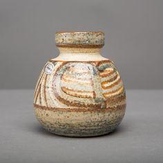vase vintage danish soholm ceramics china erika by northvintage