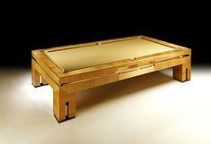 The Bolero Pool Table from Tresserra | via Furniture Fashion