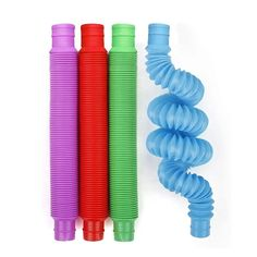 PRODUCT DETAILS Fidget Toys for Sensory Kids and Learn Multiple Colors Per Pack Actual Colors May Differ Per Order PRODUCT DESCRIPTION Poppin Pipes are fun and functional sensory fidget toys that pop, stretch, and connect making these pop tubes the go-to toy for playtime. Snap, bend, pop, twirl and connect these awesome tubes! Provides tactile stimulation, fine motor skills, and auditory feedback. Even better when used for hours of fun! These stretch toys are made for all busy fingers but… Toddler Toys, Kids Toys, Toys For Autistic Children, Cool Fidget Toys, Cool Toys, Figet Toys, Tactile Stimulation, Fidget Cube, American Girl