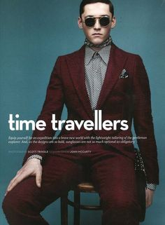 ANDERS HAYWARD THE SUNDAY TELEGRAPH THE TRAVELLERS PRINTS SUITS SCARF METAL ROUND AVIATOR ROUND SUNGLASSES PLAID PANTS GRAPHIC PRINTS MENS STYLE BLOG 1