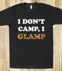 Haha. This would make Mr. Coco of Summer laugh. Glamping, yes. @kristy