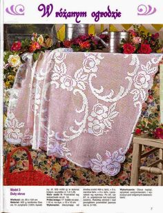 World crochet: Tablecloth 14
