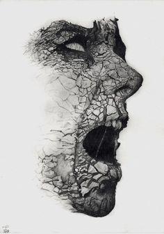 Dark drawing : creepy