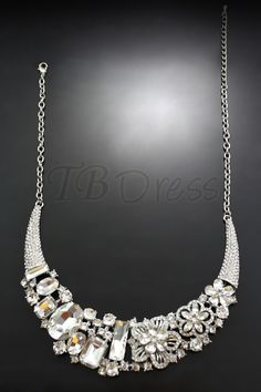http://www.tbdress.com/product/Lustrous-Alloy-With-Clear-Floral-Rhinestone-Wedding-Bridal-Jewelry-Set-Including-Necklace-And-Earrings-10160809.html  $28.99