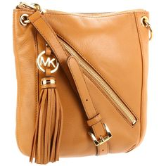 MICHAEL Michael Kors Charm Tassel Cross Body - designer shoes, handbags, jewelry, watches, and fashion accessories | endless.com