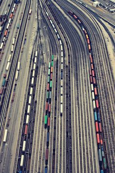 by Christina Shaffell.  photography of trains and line in general.