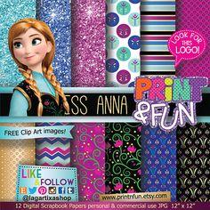 Frozen Papéis e backgrounds