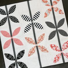 A Little Bit Biased: Growing Up (Baby Quilt) - Finished!