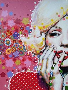Marilyn Monroe, Painting, Joy, Love, Illustrations, Colors, Painting Art, Paint, Draw