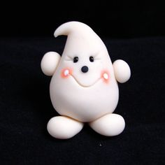 Glow in the Dark PARKER  Polymer Clay Halloween by KatersAcres, $12.50