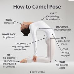 Your guide to mastering Camel Pose   What are your favorite tips for Ustrasana?