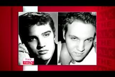 Elvis Presley with his grandson Benjamin Keough on the left! Lisa Marie Presley's son! They look so alike!!