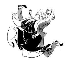 Dime a Dance by A. Wilkenfeld, via Behance