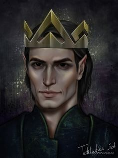 King of Hybern from A court of thorns and roses series by @sjmaas finally panted that bastard, hope you guys will like it ^^
