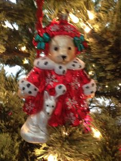Radko Muffy VanderBear Christmas Ornament