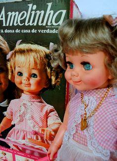 Boneca Amelinha 1973 - Vintage Doll