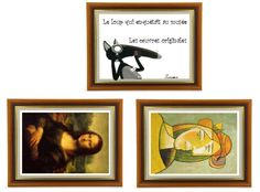 Art - Le loup qui enquêtait au musée Craft Projects For Kids, Arts And Crafts Projects, History Projects, Art History, Art Mat, Creation Art, Ecole Art, History Teachers, Magritte