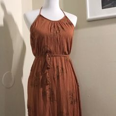Shop Women's Forever 21 Orange size M Maxi at a discounted price at Poshmark. Description: Boho Rust Orange Maxi Dress with matching belt; Burnt Orange Bridesmaid Dresses, Rust Orange, Forever 21 Dresses, Boho Dress, Summer Dresses, Fashion, Moda, Summer Sundresses, Fashion Styles